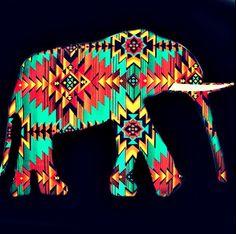 elephant love, tribal love. Tribal elephant love <3
