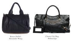 Wang + Balenciaga Bags