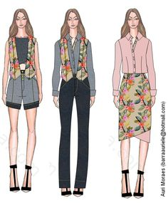 Auriele (desenhos de Moda): Trabalho de Produto de Moda