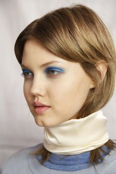 Lindsey Wixson backstage at Marc by Marc Jacobs SS14