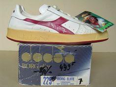 Tennis Shots: The Drop Shot Tennis Fashion, 80s Fashion, Tennis Sneakers, Sneakers Nike, Tennis Clothes, Tennis Outfits, Diadora Sneakers, Football Casuals, Vintage Tennis