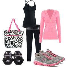 workout outfit - http://dailyshoppingcart.com/trainingequipment