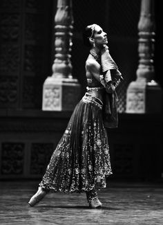 "PRINCESSE GAMZATTI - Staatsballet Berlin's prima ballerina Elisa Carrillo Cabrera in Vladimir Malakhov's ""La Bayadère""."