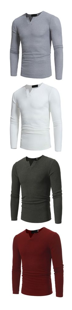 Men's Plus Size Casual/Daily Simple Fall T-shirt