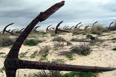 8 Fascinating Object Graveyards (aeroplane graveyard, ship graveyard, train graveyard) - ODDEE