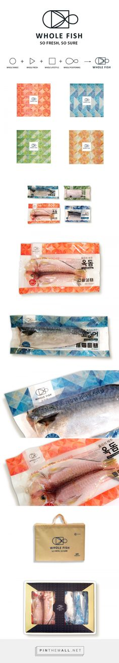 Whole Fish, A Frozen Fish Brand — The Dieline - Branding & Packaging - created via http://pinthemall.net