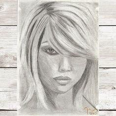 #art #drawing #drawings #drawingart #graphiteart #pencils #instaarts #women #hair #faces