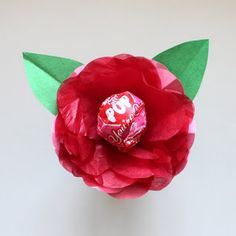 Rachael Rabbit: Tutorial: Valentine Lollypop Flowers