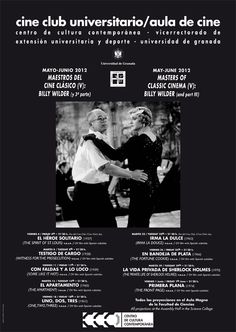 MAESTROS DEL CINE CLÁSICO V: BILLY WILDER (3ª parte). Mayo-Junio 2012.