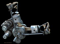 Bevel Desmo Engine #Engine