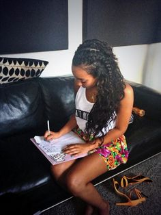 Leigh writing today :) x