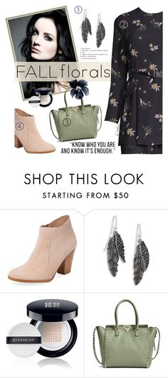 """233. Fall Florals"" by xiandrina ❤ liked on Polyvore featuring Maiden Lane, Marc Jacobs, Givenchy, Valentino, floral and fallflorals"