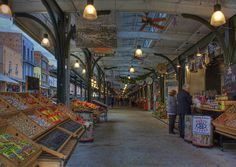 New Orleans French Market - Inside by GMills31, via Flickr