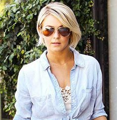 15 Best Julianne Hough Bob Haircuts: #15. Julianne Hough Short Bob Idea