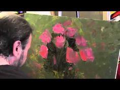 ▶ И.Сахаров, НОВЕЙШИЙ ПОЛНЫЙ видеоурок,пишем цветы. Сахаров - YouTube