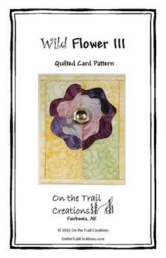 Flower Quilted Card Downloadable Sewing Pattern