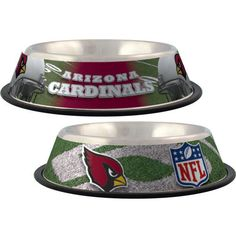 Arizona Cardinals Stainless Steel NFL Licensed Dog Bowl