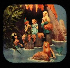 ...Peter Pan... viewmaster pic...Mermaid Lagoon