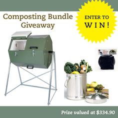 The Thrifty Housewife: Huge Composter Giveaway!  Valued at $334.00!