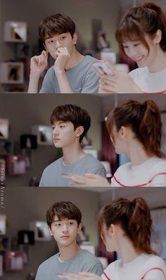 致我們暖暖的小時光・Put your head on my shoulder Love 020, Chines Drama, Web Drama, W Two Worlds, Lovely Girl Image, Drama Memes, Romance, Chinese Movies, Korean Couple