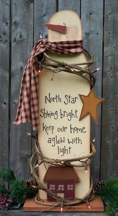 Awesome Adorable Wood Christmas Crafts 37 Patterns for Wooden Christmas Yard Decorations Woodworking Projects & Plans 7 Wooden Christmas Yard Decorations, Snowman Decorations, Snowman Crafts, Christmas Projects, Holiday Crafts, Christmas Ideas, Primitive Christmas, Christmas Snowman, Rustic Christmas