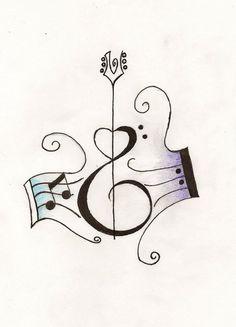 tattoos of guitars on back   Guitar Tattoos - Bass & Acoustic Tattoo Designs   Tattoo Art ...