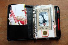 besottment.com by paper relics: #Filofax Art Journal Swap