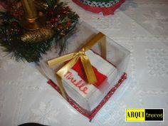 Mini bolo de Natal