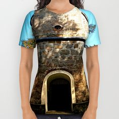 Buy Maria Rast forest chapel 2 All Over Print Shirt by Patrick Jobst. Worldwide shipping available at Society6.com. Just one of millions of high quality products available. American Apparel, Printed Shirts, Unisex, Cotton, Stuff To Buy, Products, Women, Fashion, Moda