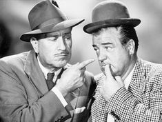 Abbott and Costello.Who's on first? Loved these as a kid. Abbott And Costello, Top 10 Comedies, Classic Comedies, Classic Movies, Classic Tv, Paul Michael Glaser, Kate Smith, Jerry Lewis, Dustin Hoffman