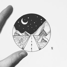 Need you to show Me The Way by Parish Doodle Drawings, Doodle Art, Easy Drawings, Tattoo Drawings, Drawing Sketches, Drawing Ideas, Tattoo Ink, Cool Drawings Tumblr, Sketching