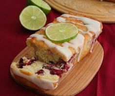 Mini Cranberry Lime Loaves