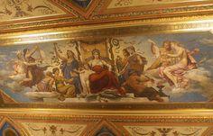 Theatre national a Prague - Mikoláš Aleš National Theatre, Prague, Les Oeuvres, Czech Republic, Murals, Painting, Artists, Beautiful, Google Search