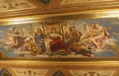 Murals of Mikolas Ales (1852 - 1913) at National Theatre