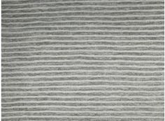 Strick - Jersey melange gestreift grau