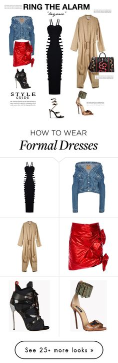 """""""Beyonce songs style"""" by beautymanifesting on Polyvore featuring Balenciaga, Isabel Marant, Dsquared2 and Gucci"""