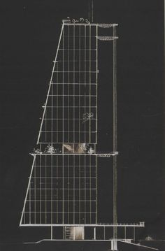 Ivan Leonidov,proposal for a House of Industry,1929.