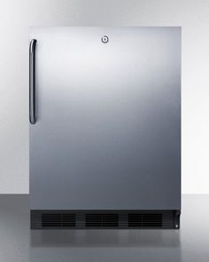 #refrigerators The #Summit AccuCold AL752LBLCSS All-Refrigeratorfeatures 32 inch high ADA compliantunit designed for built-in installation under lower counters b...