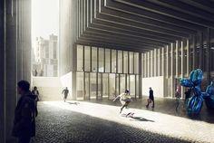 Lorenzo Meschini, Multifunctional building in Barcelona, 2013