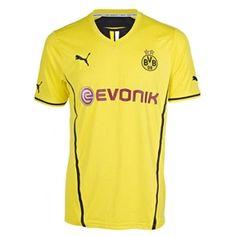 2d3e89d4b Puma Borussia Dortmund '13-'14 Home Replica Soccer Jersey (Yellow/Black)