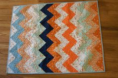 ZigZag Quilt by Nettie @ A Quilt is Nice