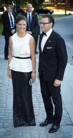 La Princesa Estelle, estrella del 40 aniversario de su abuelo, el Rey Carlos Gustavo de Suecia