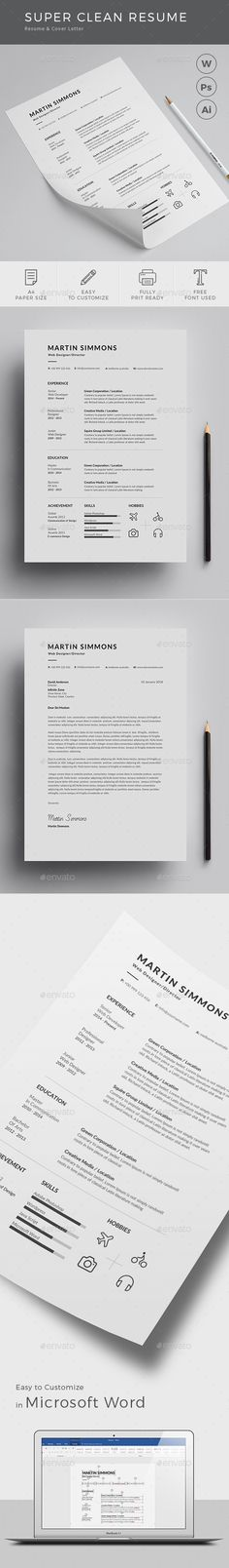 Resume\/CV - Ashley Resume cv, Cover letter template and Letter - resume customization reasons