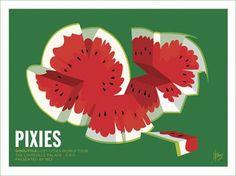 The Pixies (watermelon) - Print/Poster La-La Land http://www.amazon.com/dp/B007O2XQAS/ref=cm_sw_r_pi_dp_4K9bxb1M91H3R