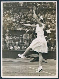 Helen Wills Moody, 1932, Wimbledon.