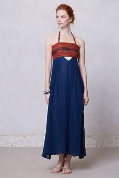 Anthropologie maxi dress...