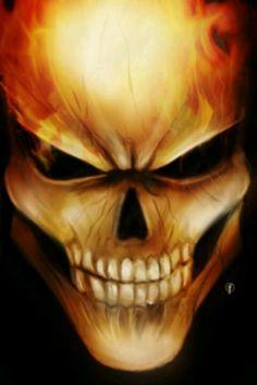 Skelletor....or ghoast rider...take you pick
