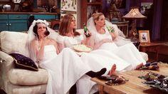 Rachel, Monica, & Phoebe
