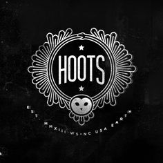 Hoots Beer Logo designed by Airtype.
