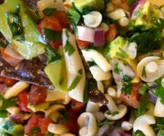 Ingredients lbs Alba Clamshell mushrooms 6 roma tomatoes or 16 oz grape tomatoes 1 medium purple onion 2 Serrano chilies Juice of 1 medium lemon 1 cilantro bunch 2 avocados Salt to taste Mushroom Appetizers, Mushroom Recipes, How To Cut Avocado, Dinner This Week, Roma Tomatoes, Ceviche, Cilantro, Pasta Salad, Whole Food Recipes